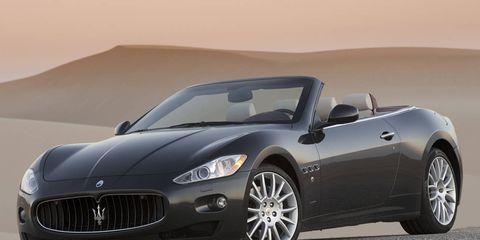 Mode of transport, Automotive design, Vehicle, Car, Performance car, Rim, Hood, Landscape, Maserati, Automotive lighting,