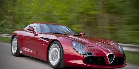 Tire, Mode of transport, Automotive design, Vehicle, Automotive mirror, Performance car, Red, Car, Sports car, Supercar,