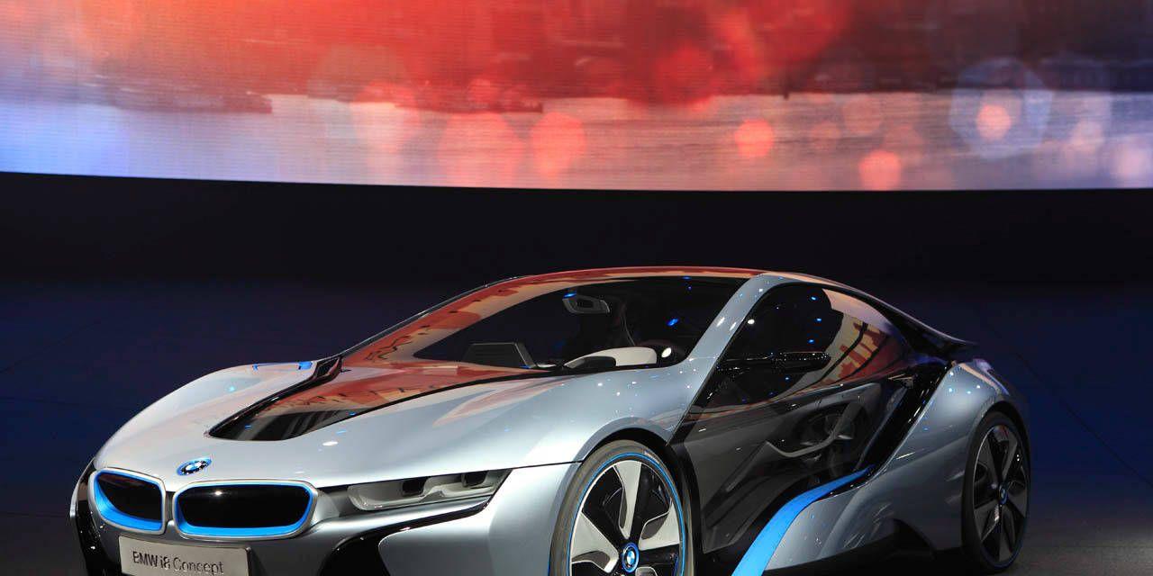 Photos Bmw I8 Hybrid Concept