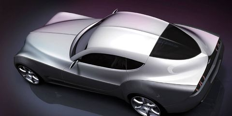 Photos: Morgan EvaGT Concept Car
