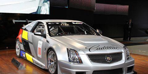 Photos Cadillac Cts V Coupe Race Car
