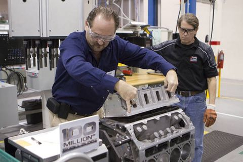 Gm Builds 100 Millionth Small Block Engine