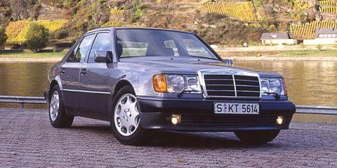 Land vehicle, Vehicle, Car, Luxury vehicle, Mercedes-benz w201, Mercedes-benz 500e, Mercedes-benz, Mercedes-benz w124, Mercedes-benz w126, Classic car,