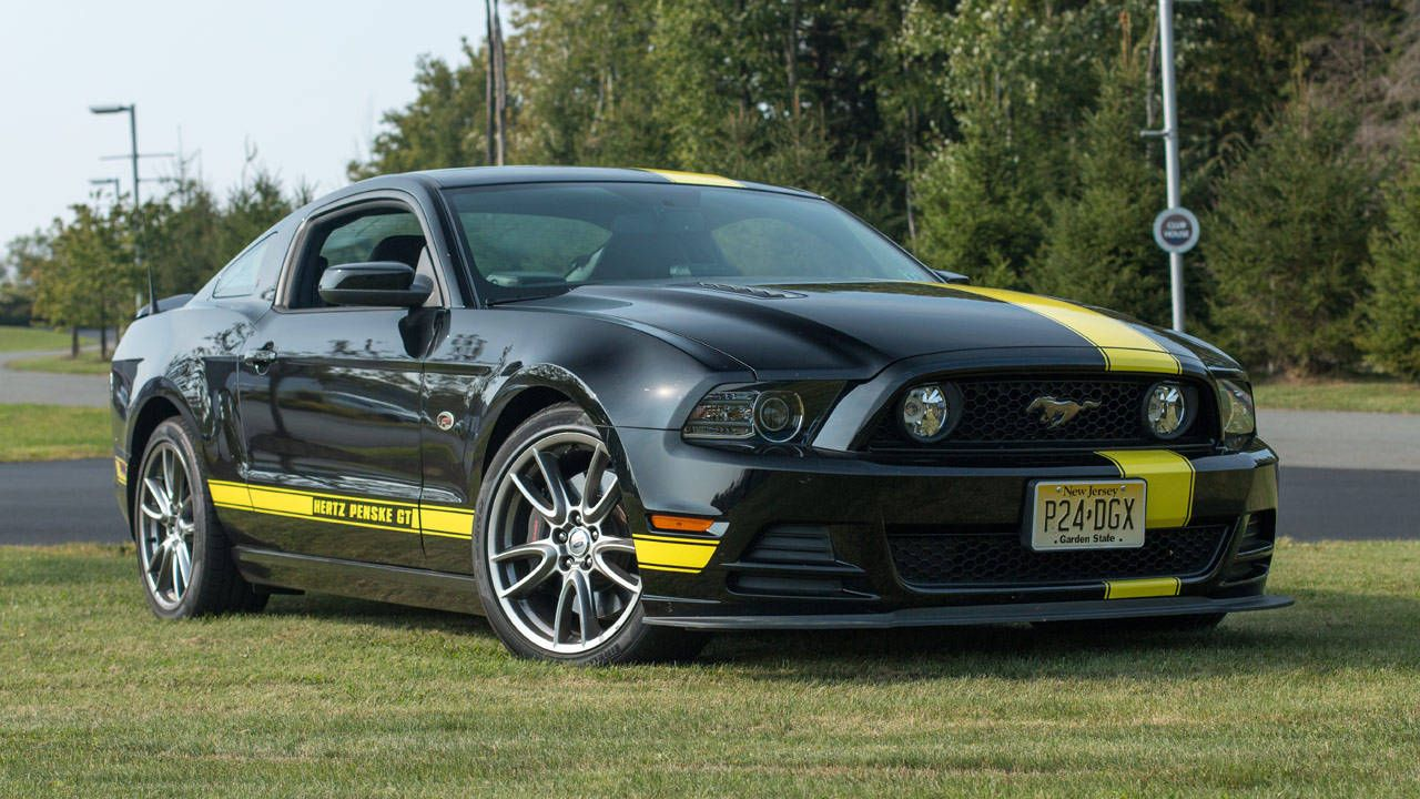 Track time with the Hertz Penske Mustang GT
