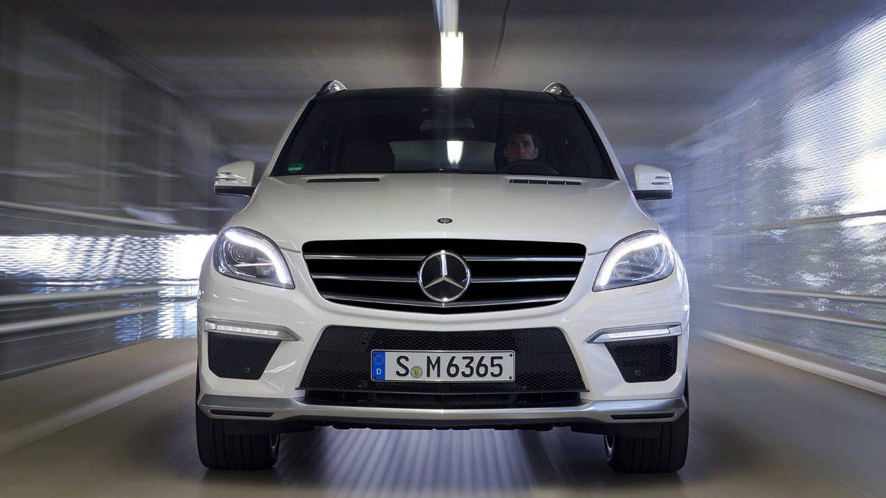 Mercedes ML63 AMG 2012 - YouTube