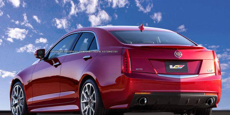 Photos: 2014 Cadillac ATS-V