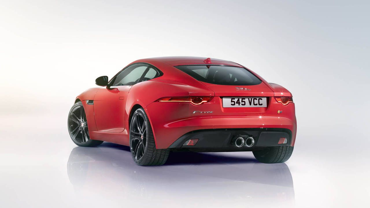 Jaguar rolls out F-Type Coupe and 550 hp Coupe R