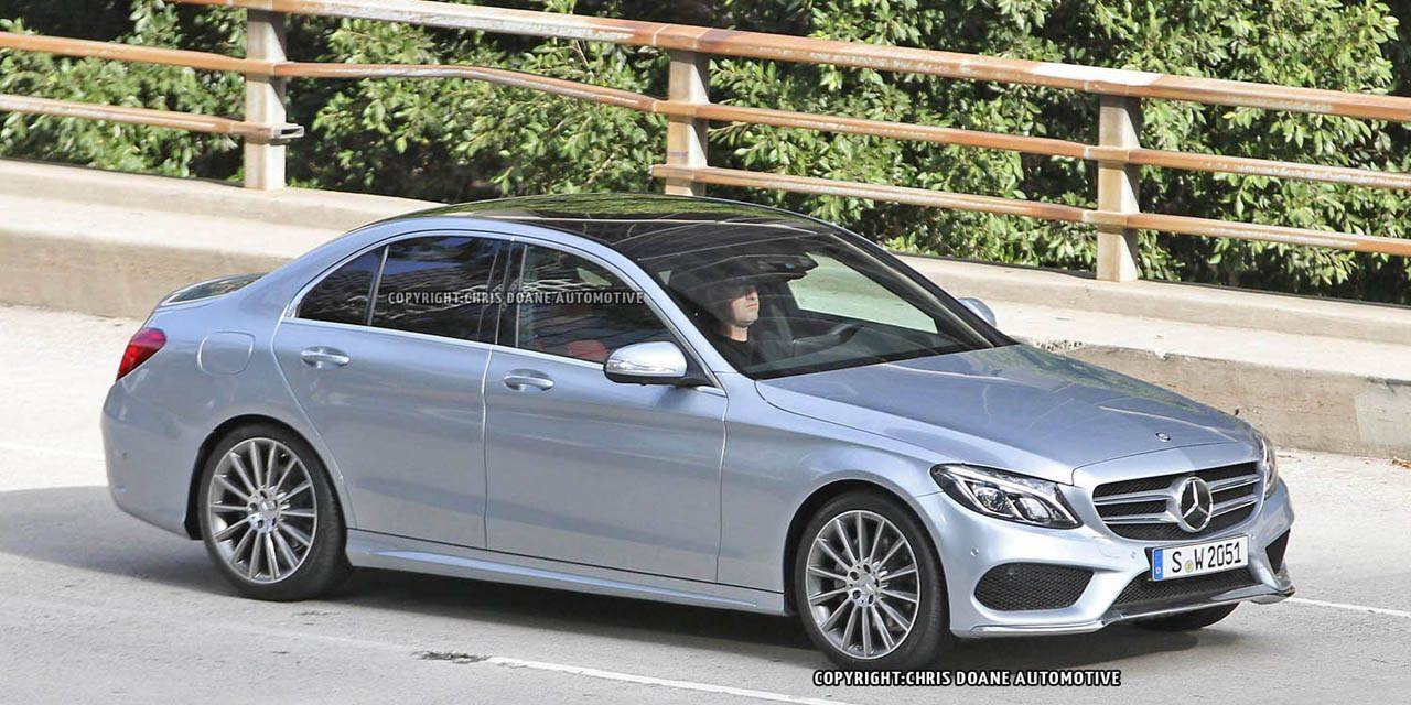 Spy Shots: Mercedes-Benz C Class uncovered