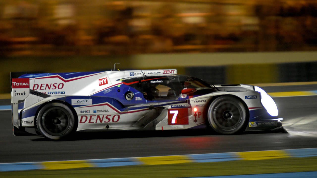 Race-leading Toyota TS040 suffers failure, withdraws form Le Mans