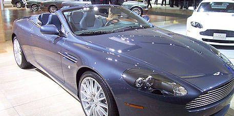 Photos Aston Martin DB Volante - 2006 aston martin db9 volante