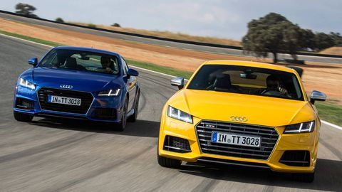 Automotive design, Mode of transport, Vehicle, Yellow, Land vehicle, Grille, Automotive mirror, Car, Hood, Headlamp,
