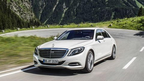 First Drive 2016 Mercedes Benz S550 Hybrid