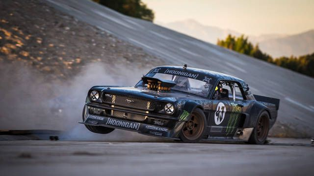 WATCH IT! Ken Block tears up LA in 845-hp Mustang in Gymkhana 7