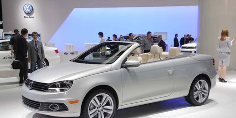 Volkswagen Eos Photos From The Los Angeles Auto Show - Eos car show