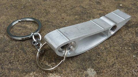 Metal, Iron, Steel, Keychain, Silver, Nickel, Aluminium, Automotive exhaust, Rock-climbing equipment, Silver,