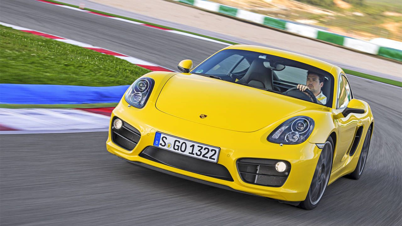 Drives: 2014 Porsche Cayman S