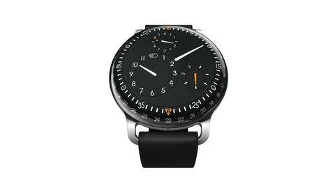 Product, Analog watch, Watch, White, Glass, Watch accessory, Font, Fashion accessory, Black, Grey,