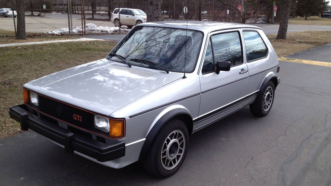 Editor In Chief Larry Webster Is Selling His 1983 Volkswagen Gti Rabbit For Sale