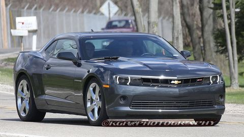2014 Chevrolet Camaro RS - First Peek at the Updated V6 Camaro