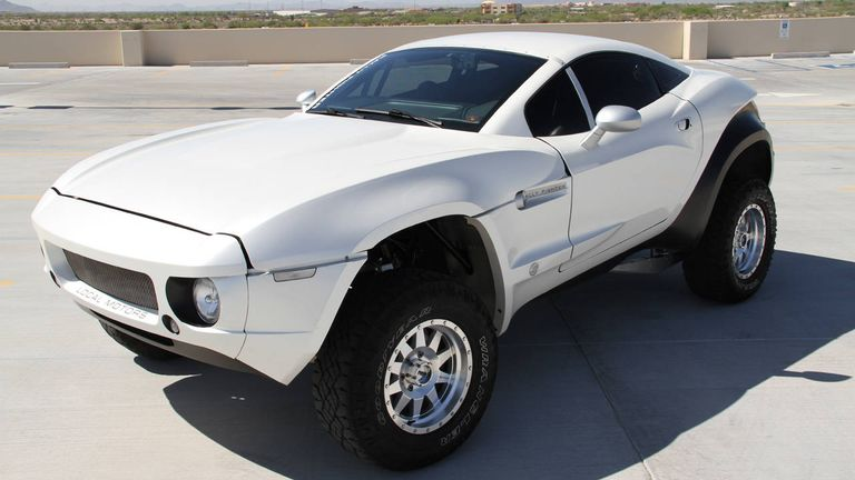Chevrolet LS3 Powered Local Motors Rally Fighter for Sale - Local ...