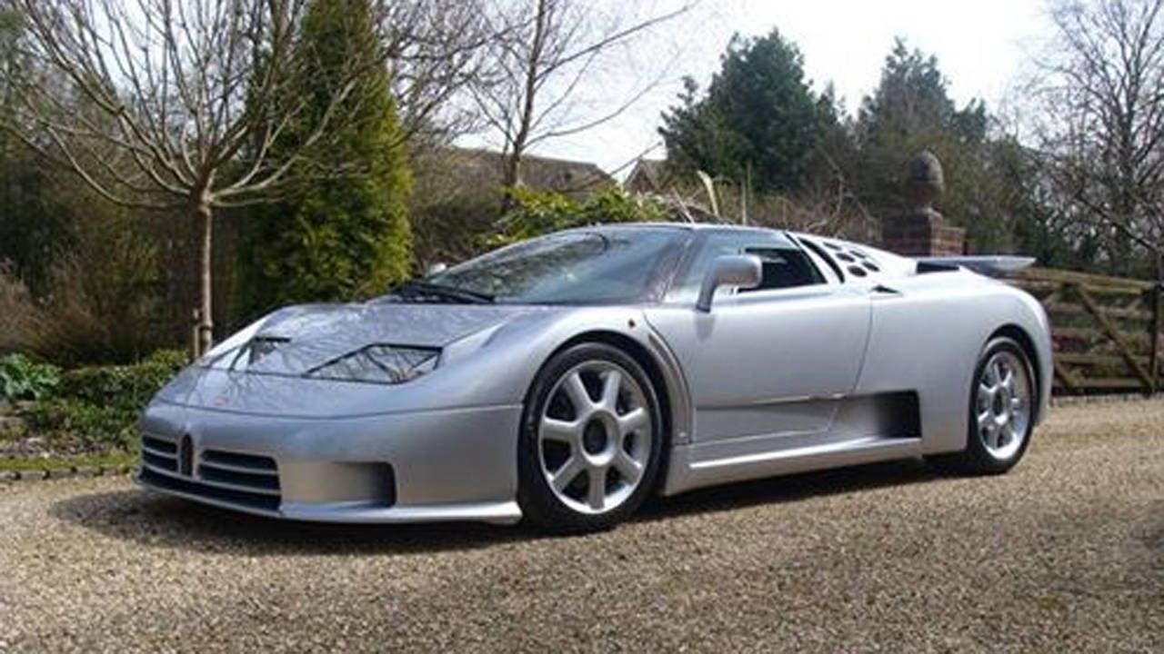 World S Only Bugatti Eb110 Ss By Brabus For Sale Bugatti