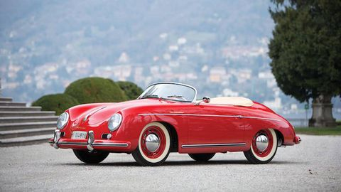 Iconic 1955 Porsche 356 Speedster At Auction For Sale 1955