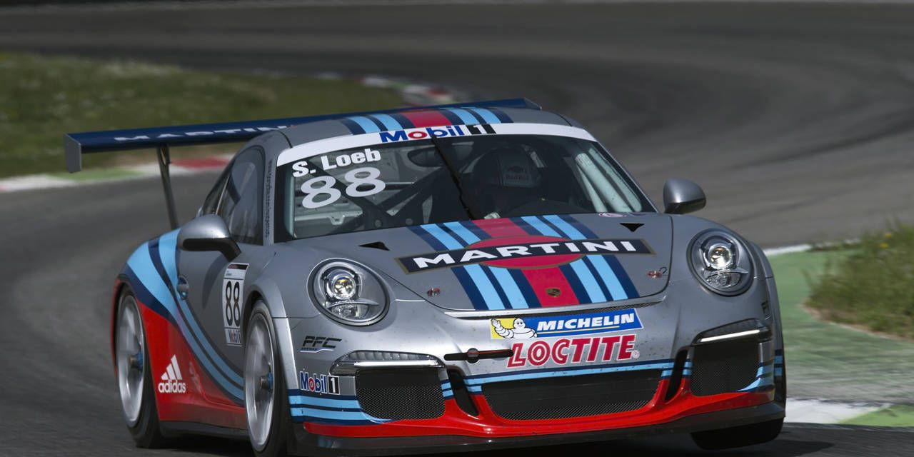 Martini Racing reunites with Porsche for GT3 SuperCup