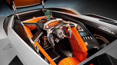 Lambo Egoista Unveiled New Single Seat Supercar