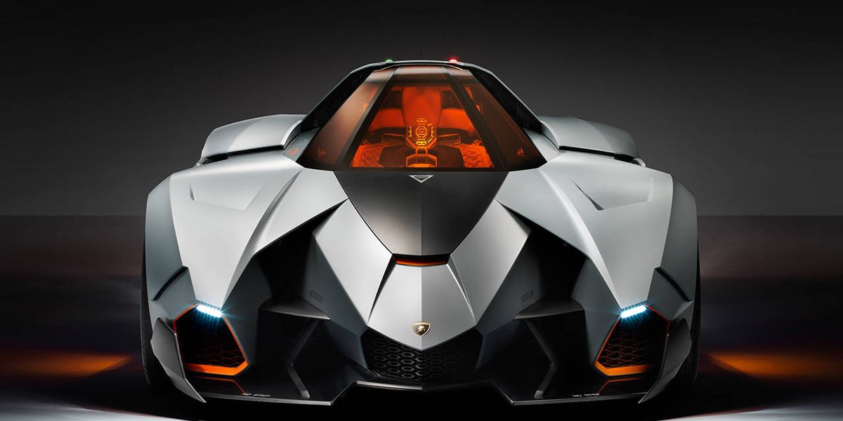 Car Auction Apps >> Lambo Egoista Unveiled - New Single-Seat Supercar