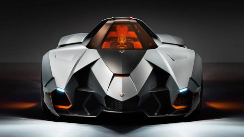Lambo Egoista Unveiled New Single Seat Supercar