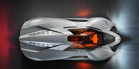 Lamborghini Egoista Concept Warplane Inspired Hypercar