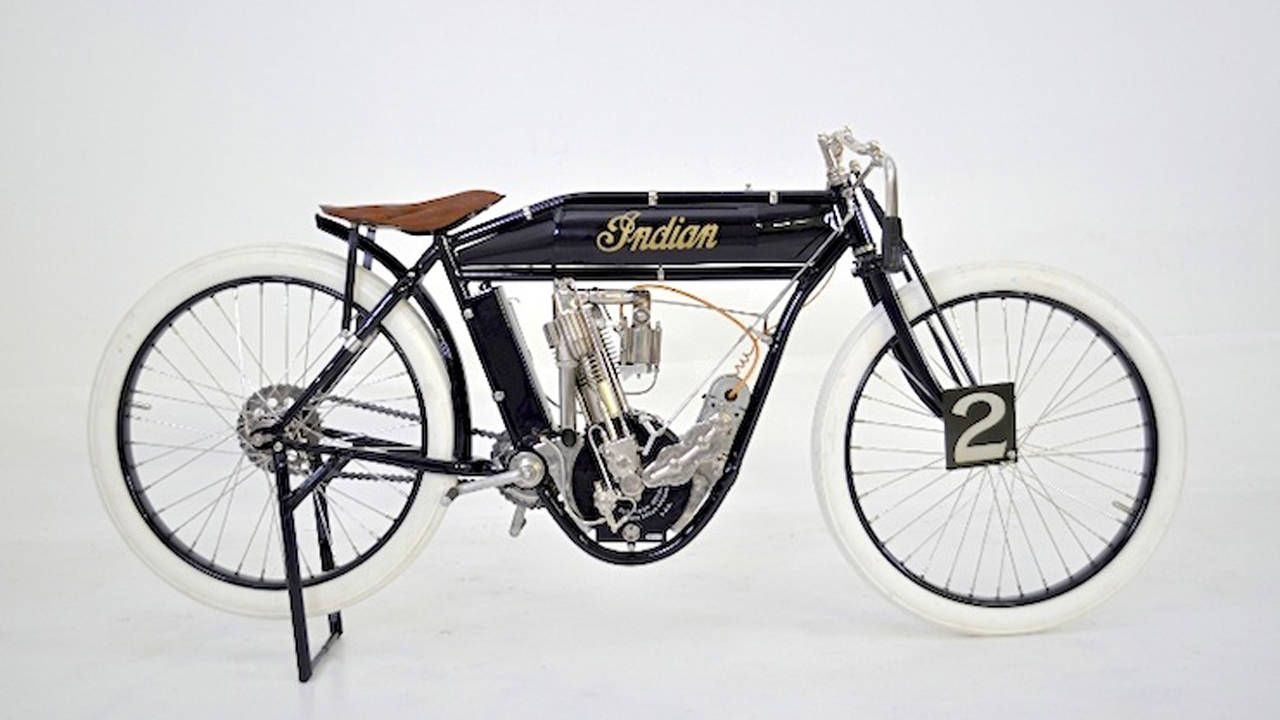1911 Indian Board Track Racer For Auction