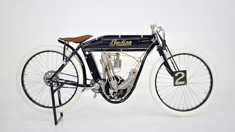1911 Indian Board Track Racer for Auction - MidAmerica Classic ...