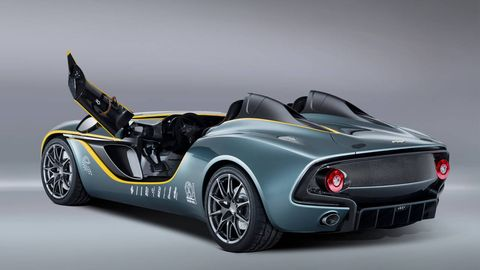 Race Inspired Neo Retro Aston Martin Cc100 Speedster Debuts