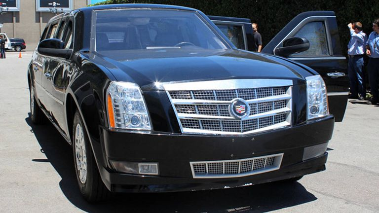 Driving a Fake Presidential Limo - Driving a Hollywood Version of ...