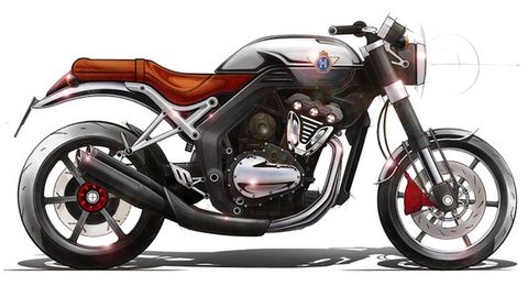 Motorcycle, Wheel, Automotive design, Mode of transport, Transport, Fuel tank, Automotive tire, Fender, Automotive lighting, Rim,
