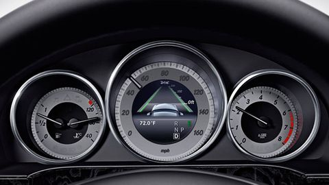 Mode of transport, Speedometer, Gauge, Tachometer, Measuring instrument, Grey, Odometer, Fuel gauge, Trip computer, Luxury vehicle,