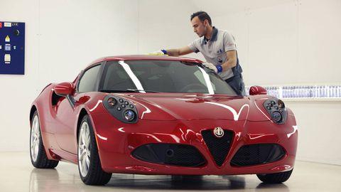 Automotive design, Vehicle, Land vehicle, Performance car, Car, Red, Sports car, Alfa romeo 8c competizione, Supercar, Alloy wheel,