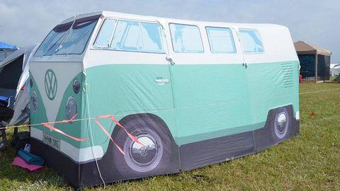 inflatable vw camper van
