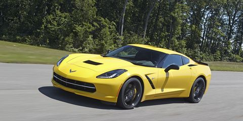 Tire, Wheel, Automotive design, Yellow, Vehicle, Road, Infrastructure, Hood, Rim, Performance car,