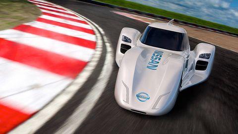 Mode of transport, Automotive design, Car, Race car, Asphalt, Logo, Race track, Sports car, Carmine, Performance car,