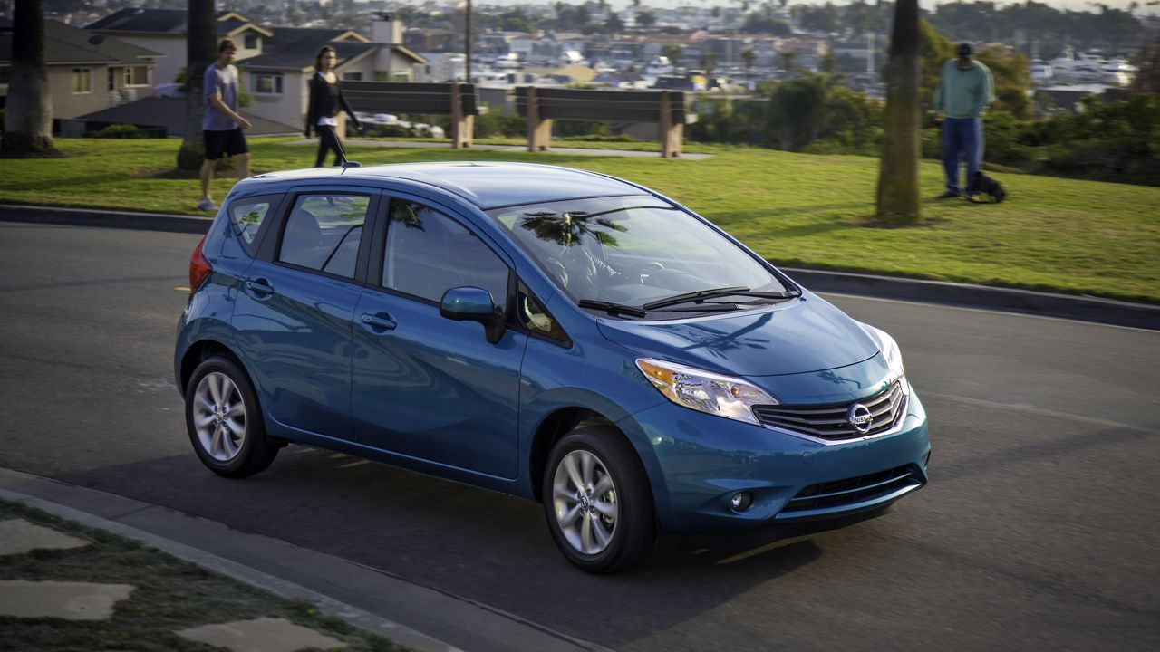 The Old Five Door Versa Was A Homely Little Hatchback That Offered As Much  Style As A Pair Of Black Socks Nestled Inside Some Old Birkenstock Sandals.  Ew.