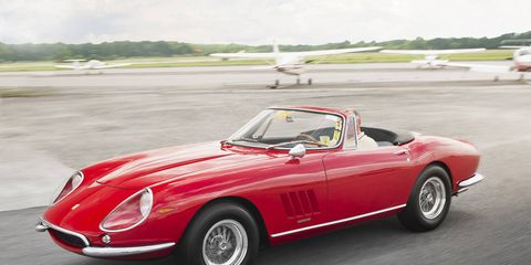 Tire, Wheel, Mode of transport, Automotive design, Vehicle, Transport, Car, Automotive lighting, Classic car, Red,