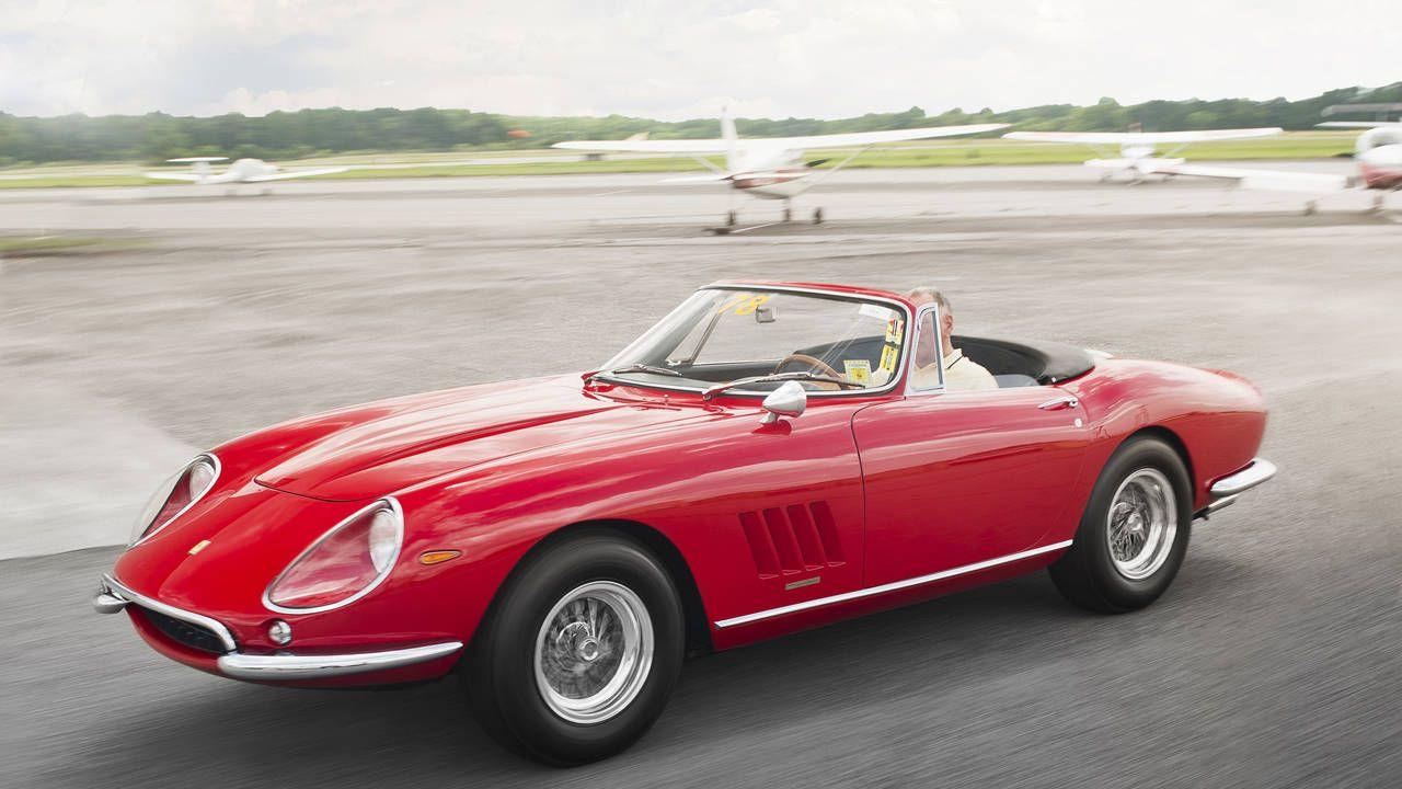 Ultra-rare Ferrari 275 NART Spyder up for auction