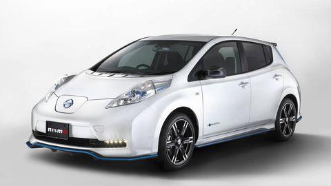 Nismo Ev Leaf Receives Updates Nissan Improves Its Electric Leaf