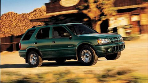 Six forgotten isuzus isuzu cars you may have forgotten in 1993 isuzu replaced a gm sourced 119 hp v6 with its own 174 hp version and a decent little suv got that much better much smaller than the trooper sciox Image collections