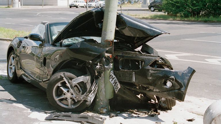 Anatomy of a Car Crash – What Happens When Cars Leave The Road