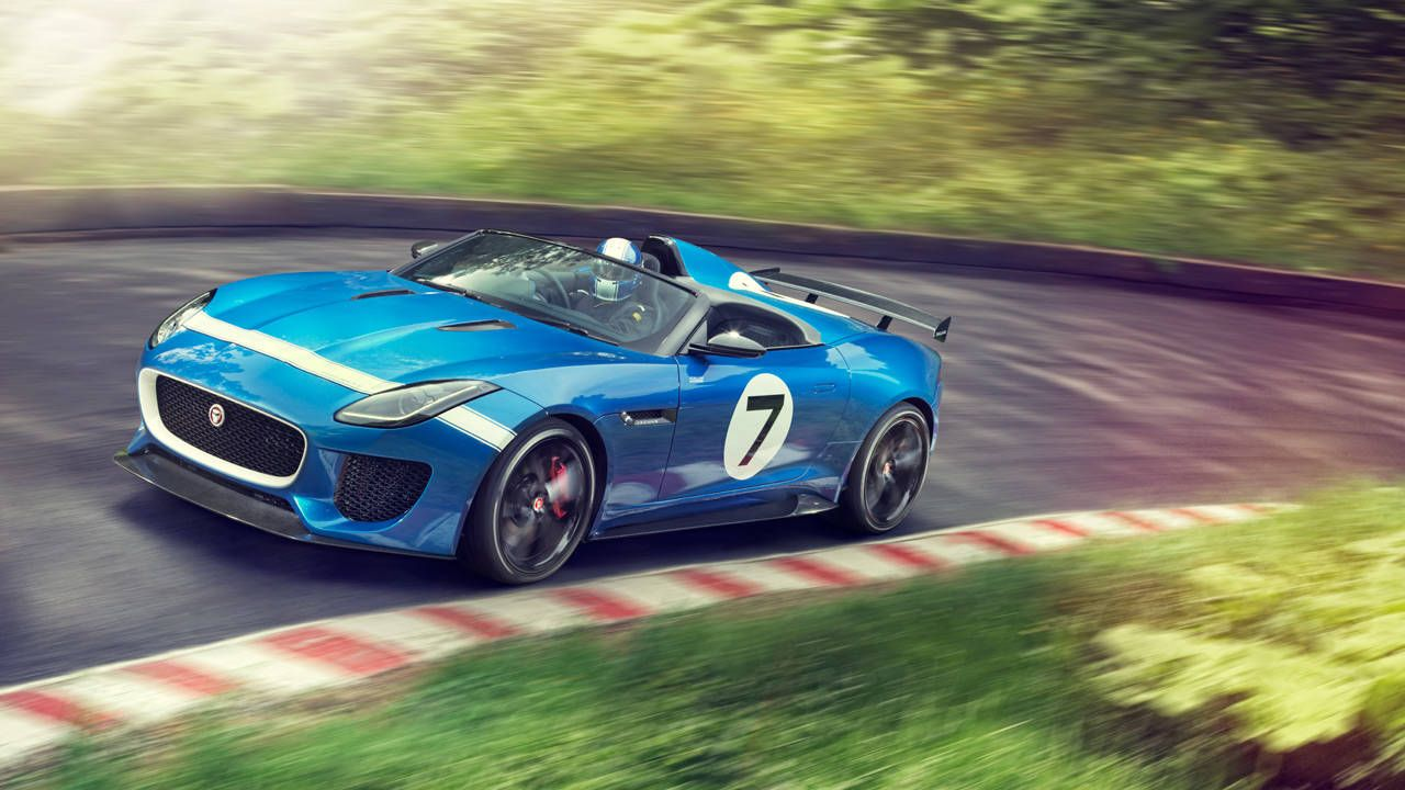 One-seat wonder: The Jaguar Project 7