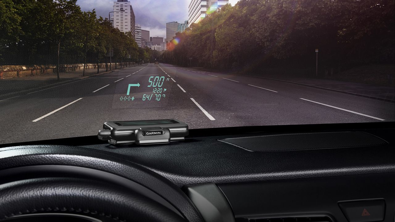 Garmin releases portable head-up display