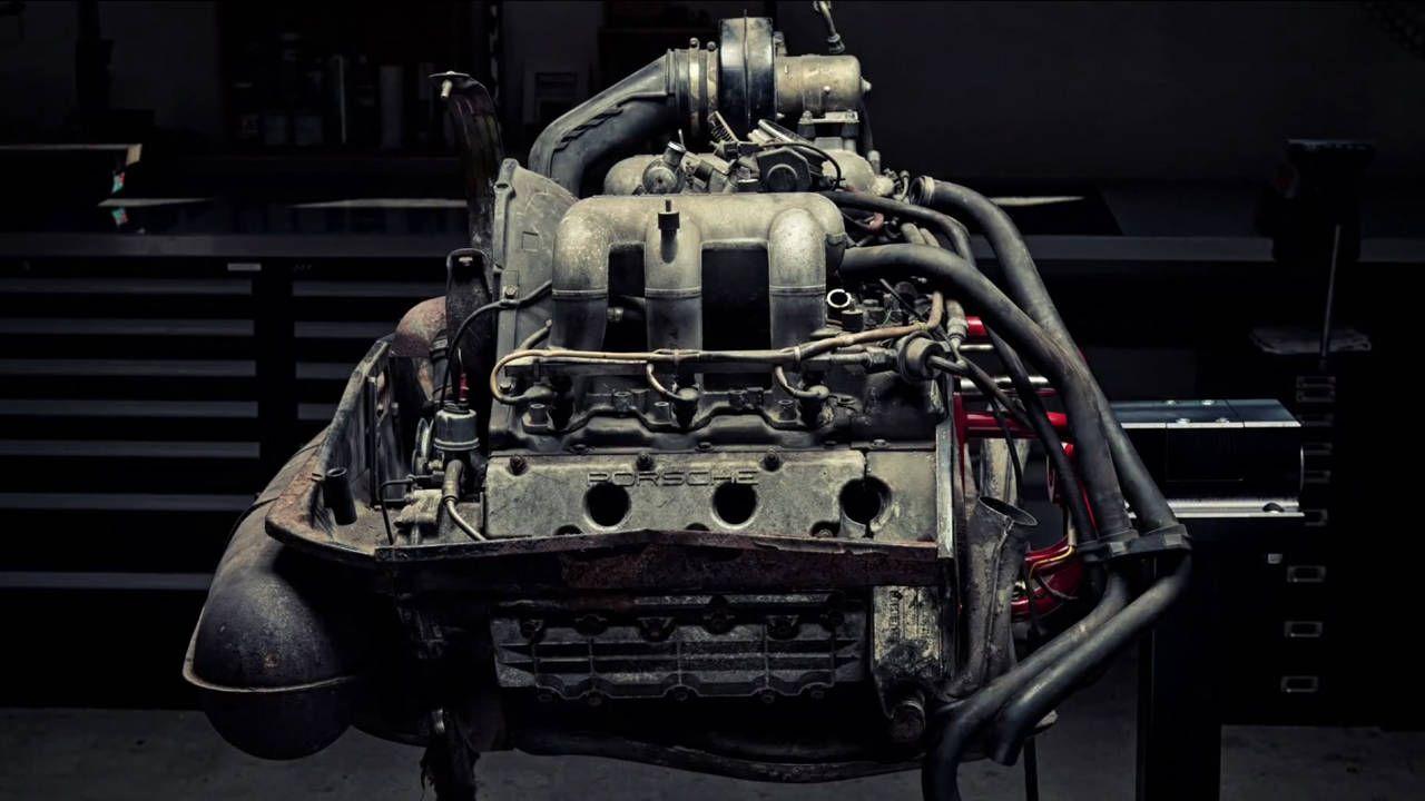 Watch this three-minute Porsche flat-six teardown